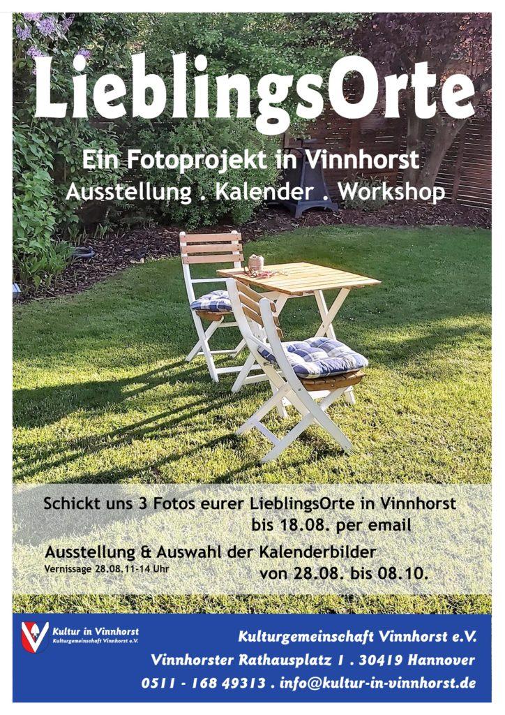 LieblingsOrte in Vinnhorst Plakat