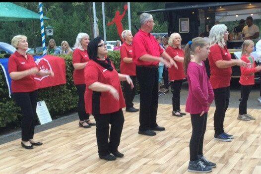 Linedance-Gruppe